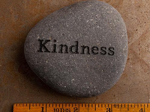 Kindness - Black on Gray
