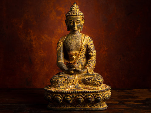 Buddha with Dhyana Mudra: MEDITATION