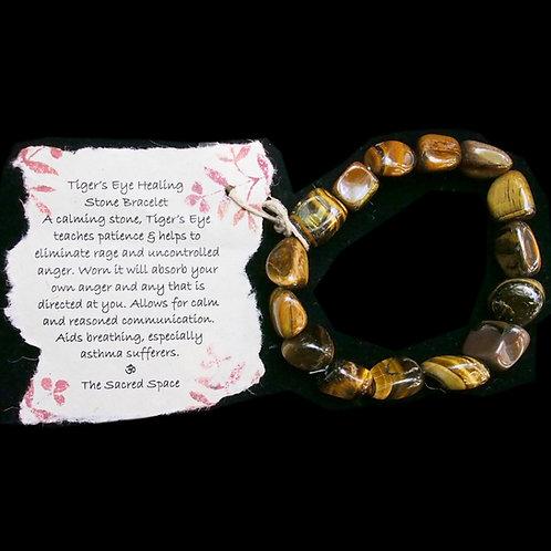 Tiger's Eye Healing Stone Bracelet