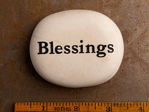 Blessings Word Stone