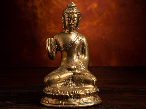 Buddha with Abhaya Mudra: PROTECTION