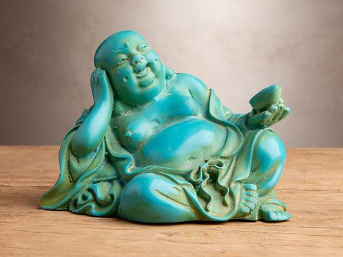 Reclining Hotei Statue