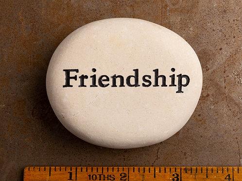 Friendship Word Stone