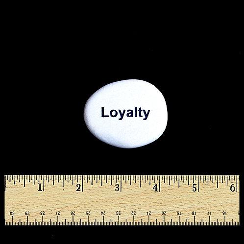 Loyalty Word Stone