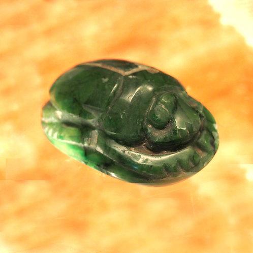 Green Aventurine Scarab