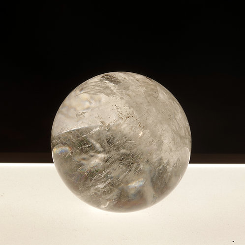 Quartz Crystal Gazing Ball