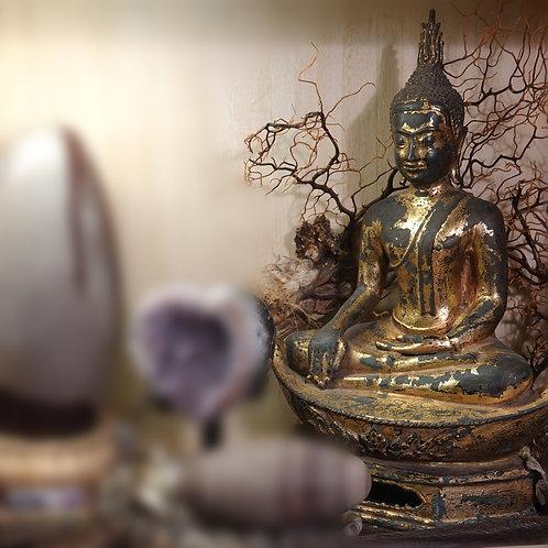 Earth Buddha Statue