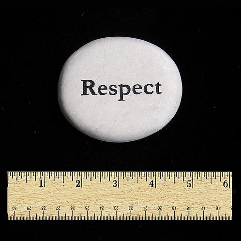 Respect Word Stone