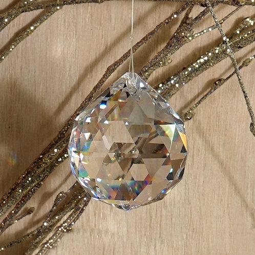 Swarovski Crystal Prism Suncatcher/Rainbow Maker