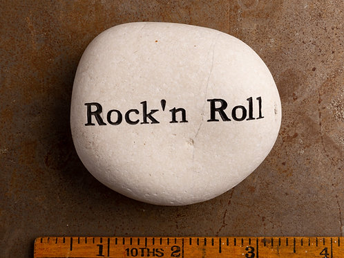 Rock'n Roll Word Stone