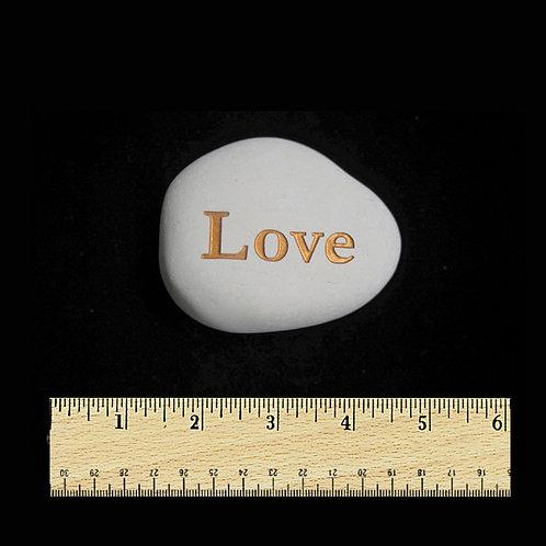 Love Word Stone