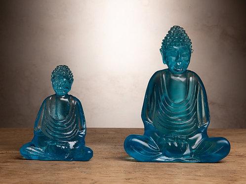 Turquoise Resin Buddha