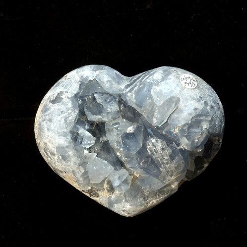 Celestite Heart