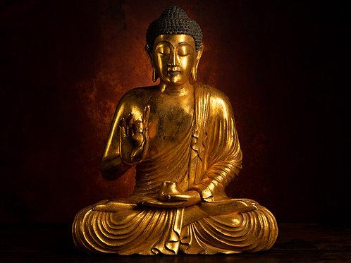 Buddha with Vitarka Mudra: Teaching Transmission