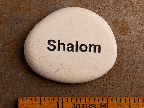 Shalom Word Stone