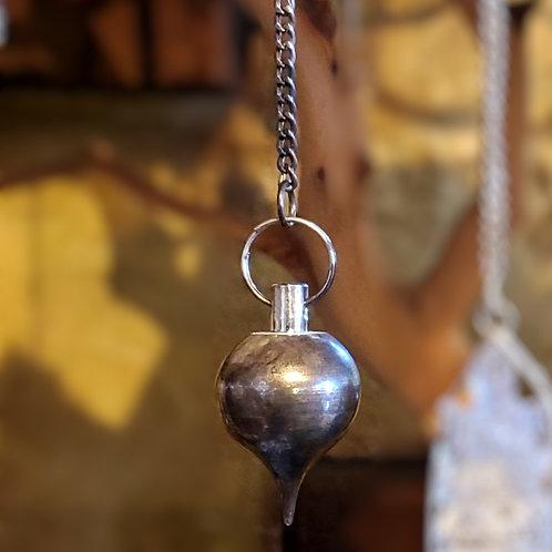Silver Plated Brass Pendulum