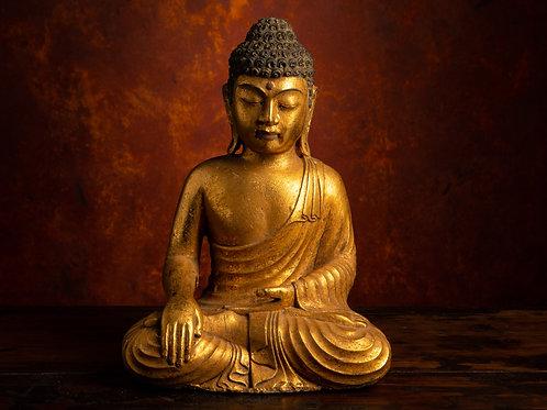 Earth Buddha with Bhumisparsa Mudra