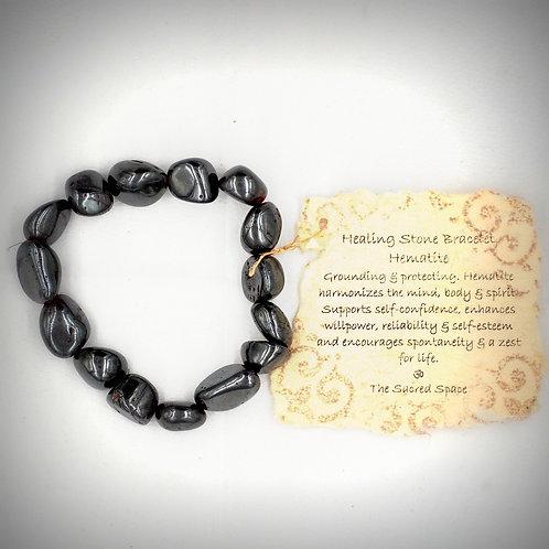Hematite Healing Stone Bracelet