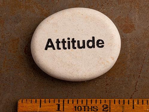 Attitude Word Stone