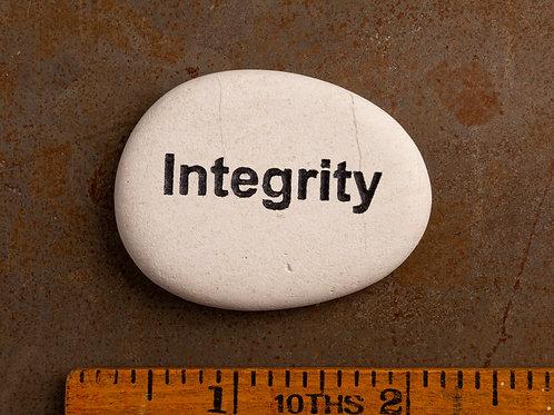 Integrity Word Stone