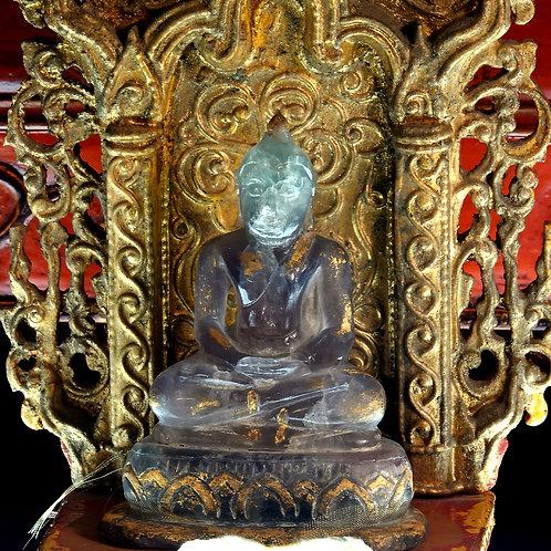 Rare Vintage Fluorite Buddha
