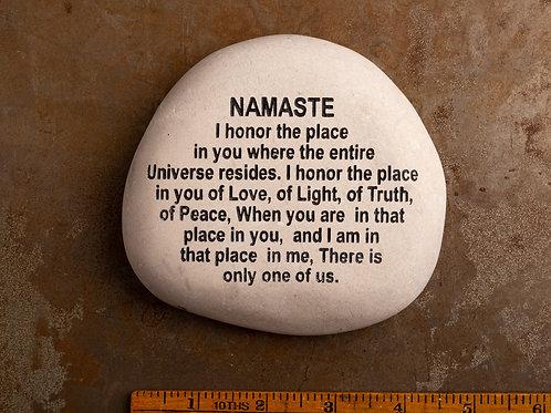 Namaste Word Stone