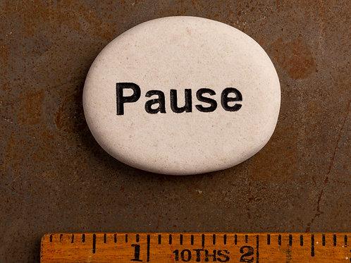 Pause Word Stone