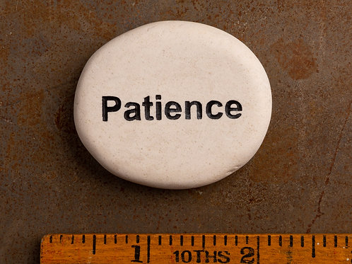 Patience Word Stone
