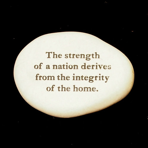 Strength Word Stone