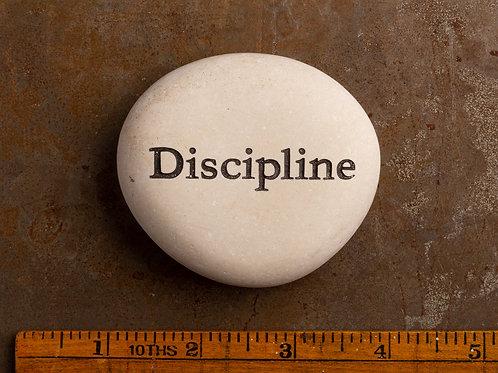 Discipline Word Stone