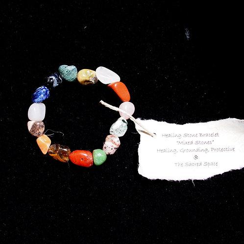 Mixed Healing Stone Bracelet