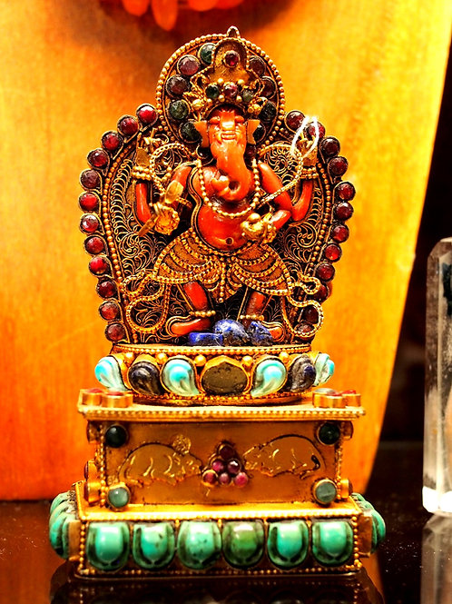 Unique and exquisitely handmade Ganesh