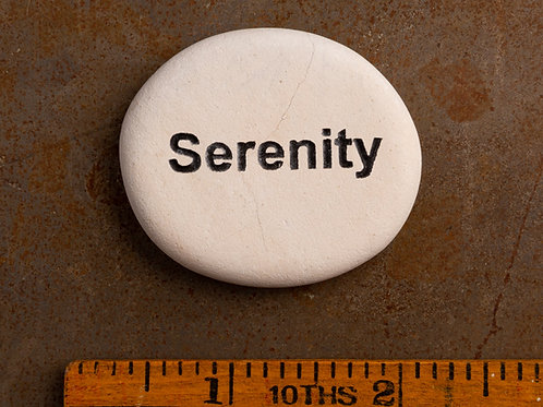 Serenity Word Stone