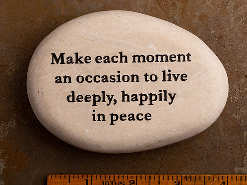 Make each moment