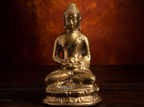 Meditating Buddha with Alms Bowl