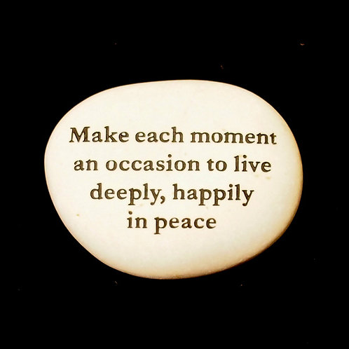 Make each moment Word Stone