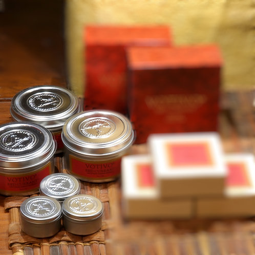 Votivo Red Currant Travel Candles