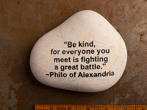 Be Kind Word Stone