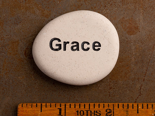 Grace Word Stone