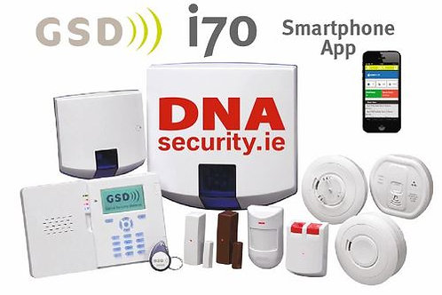 DNA Monitored Wireless Alarm