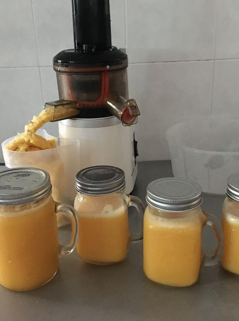 Developing eating disorder - orange juice