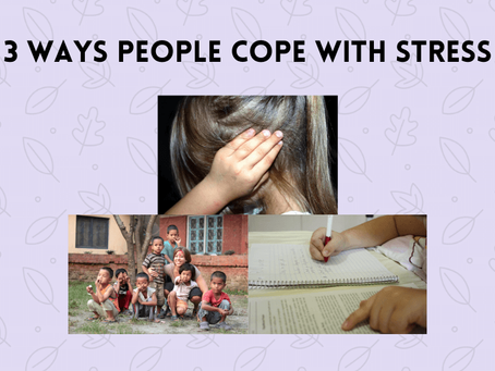 3 Ways People Cope with Stress