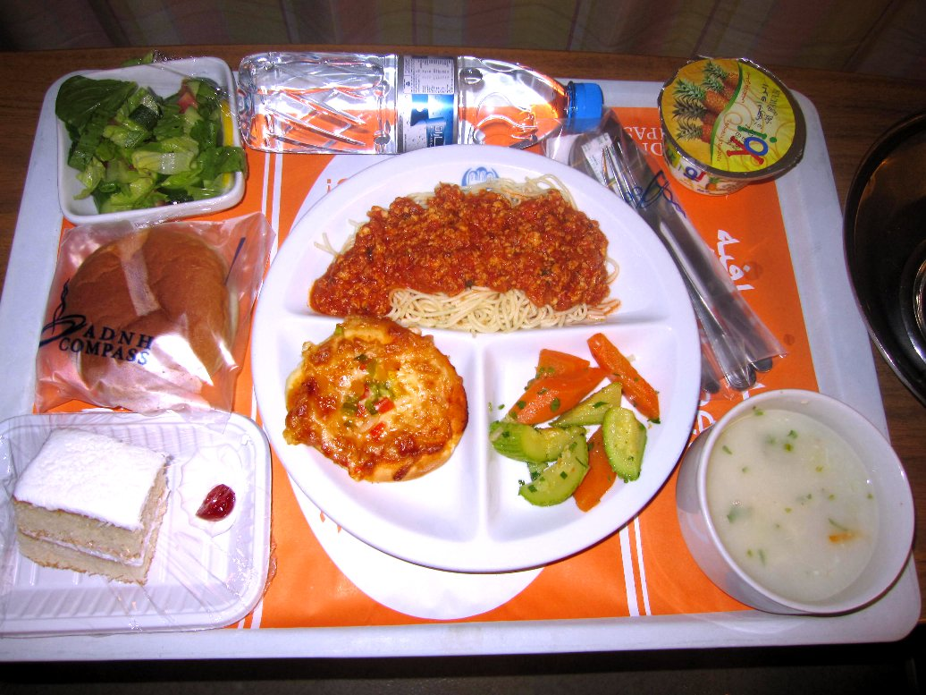 Eating Disorder - hospital food