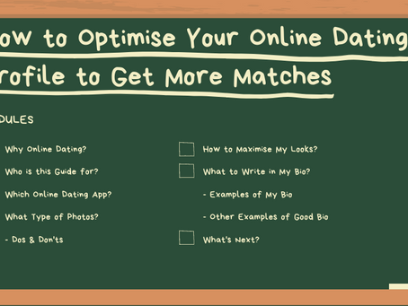 How to Optimise Your Online Dating Profile to Get More Matches