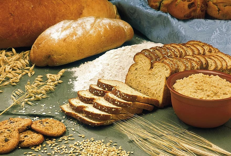 Focus on whole grains or refined grains that are enriched