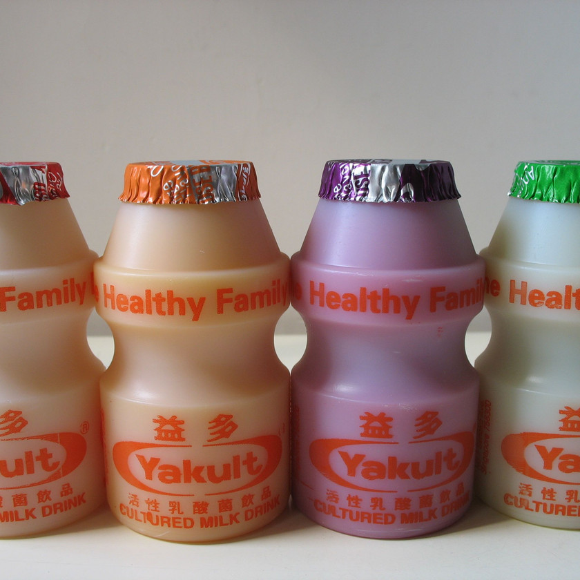 yakult for probiotics
