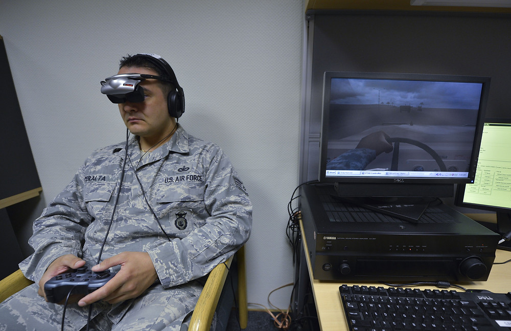 Virtual Reality Therapies (VRT) to treat pain and phobias (e.g. heights or insects).