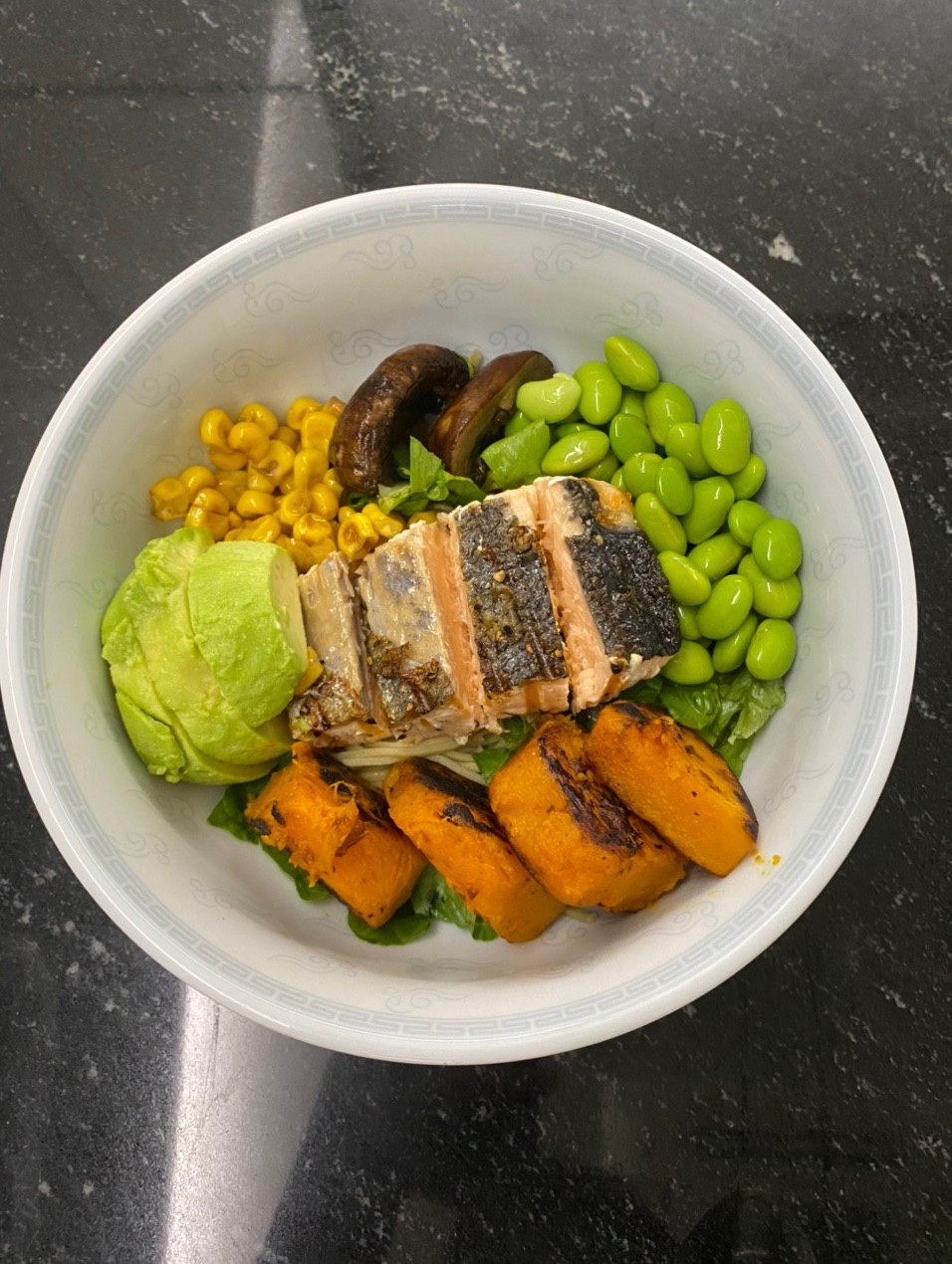 Orthorexia nervosa recovery - Balanced meal