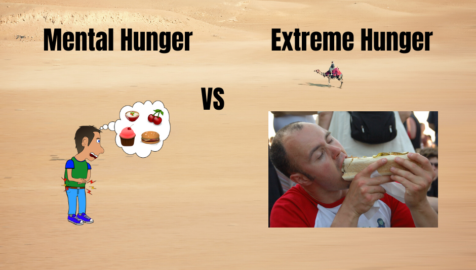 Eating Disorder Recovery - Mental vs Extreme Hunger