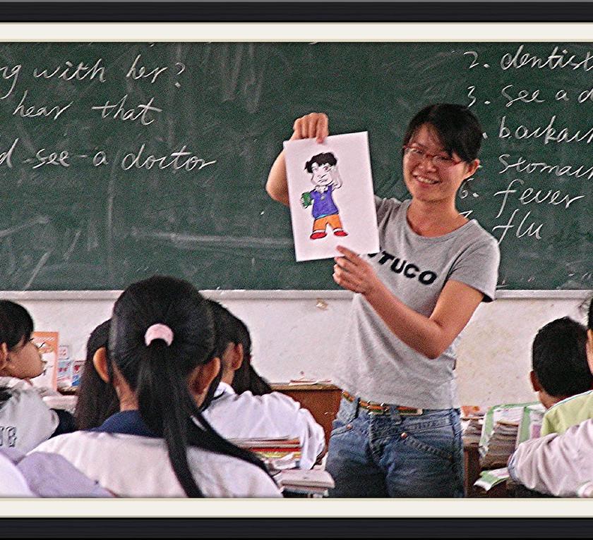 Occupational wellness - Teacher teaching